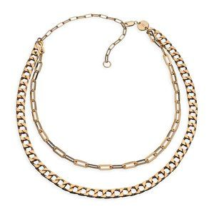 Jennifer Zeuner Jewelry DJ Crystal Necklace